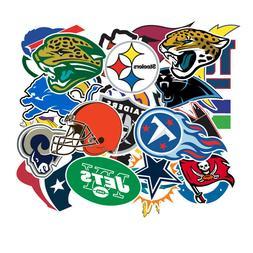 32 NFL Teams Logo Decal Vinyl Stickers for Truck/Skateboard/