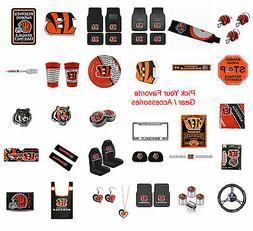 Brand New NFL Cincinnati Bengals Pick Your Gear / Accessorie