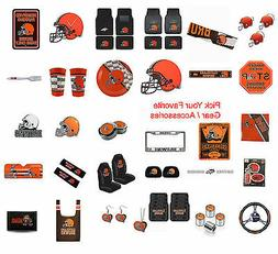 Brand New NFL Cleveland Browns Pick Your Gear / Accessories