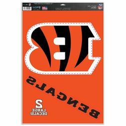 "Cincinnati Bengals 11"" x 17"" Multi Use Decals - Auto, Walls,"
