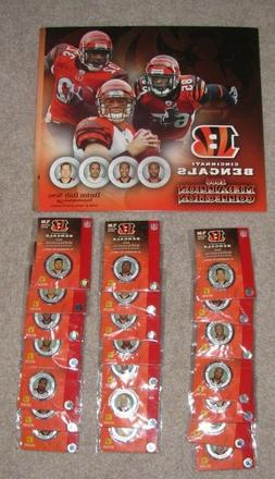 Cincinnati Bengals 2006 Collectible Medallions Complete Set