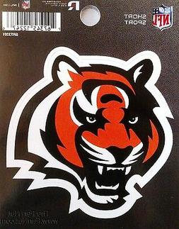 "Cincinnati Bengals 3"" Flat Vinyl Sport Die Cut Decal Bumper"