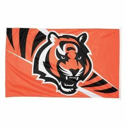 "Cincinnati Bengals ""Bengal Head Stripe"" Wincraft - Logo 3'x5"
