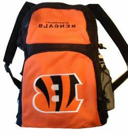 NFL Cincinnati Bengals backpack Large 16' School bag Free Sp