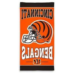 Cincinnati Bengals Beach Towel  NFL Blanket Vacation Summer