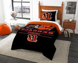 Cincinnati Bengals Bedding Twin  OFFICIAL NFL
