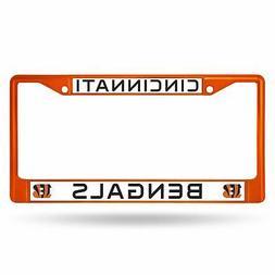 Cincinnati Bengals Chrome License Plate Frame Tag Cover Car/