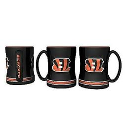 cincinnati bengals coffee mug relief sculpted team