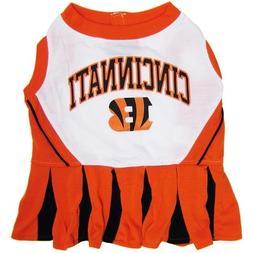 Cincinnati Bengals Dog Cheerleading Dress MD