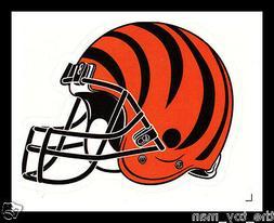 CINCINNATI BENGALS FOOTBALL NFL HELMET DECAL STICKER TEAM LO