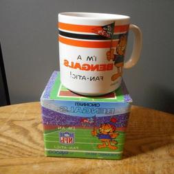 Cincinnati Bengals Garfield FAN-ATIC 1978 Ceramic Coffee Mug