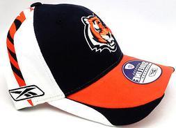 "Cincinnati Bengals Hat OSFA Flex-Fit ""On Field Sideline Appa"