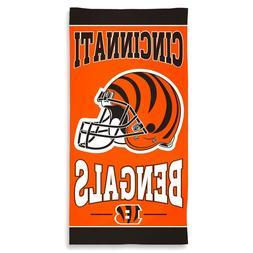 Cincinnati Bengals Wincraft NFL 30 x 60 Fiber Beach Towel FR