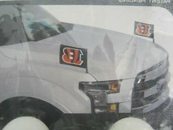 Cincinnati Bengals NFL Ambassador Car Flags Hood Trunk Set o