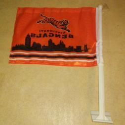 Cincinnati Bengals NFL Car Window Mount Flag 11X14. BRAND NE