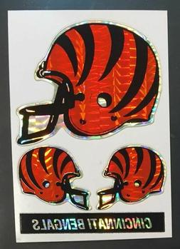 Cincinnati Bengals NFL Color Logo Sports Decal Sticker-FREE