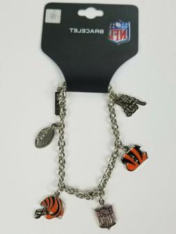 Cincinnati Bengals NFL Football Charm Bracelet Fashion  Jewe