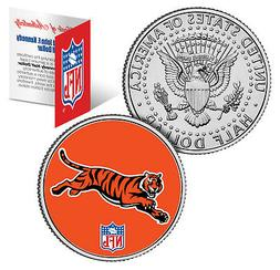 CINCINNATI BENGALS  NFL JFK Kennedy Half Dollar US Coin  *Of