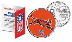 CINCINNATI BENGALS  NFL Ohio U.S. Statehood Quarter U.S. Coi