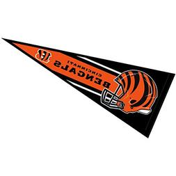 Cincinnati Bengals Official NFL 30 inch Large Pennant