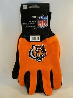 cincinnati bengals nfl sport utility gloves orange