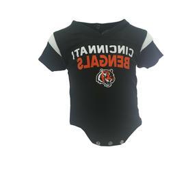 Cincinnati Bengals Official NFL Apparel Baby Infant Size Cre