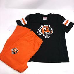 NFL Cincinnati Bengals Set Shirt and Sweatpants Kids Baby To