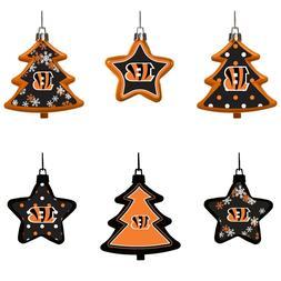 Cincinnati Bengals Shatterproof TREES & STARS Christmas Tree