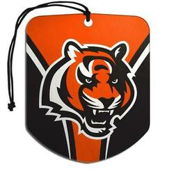 cincinnati bengals shield design air freshener 2