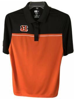 Cincinnati Bengals NFL Team Apparel TX3 Cool Golf Polo Shirt