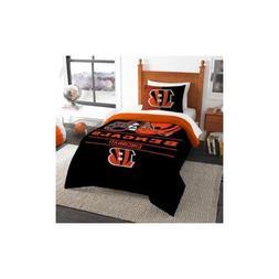 The Northwest Company NFL Cincinnati Bengals Twin Comforter