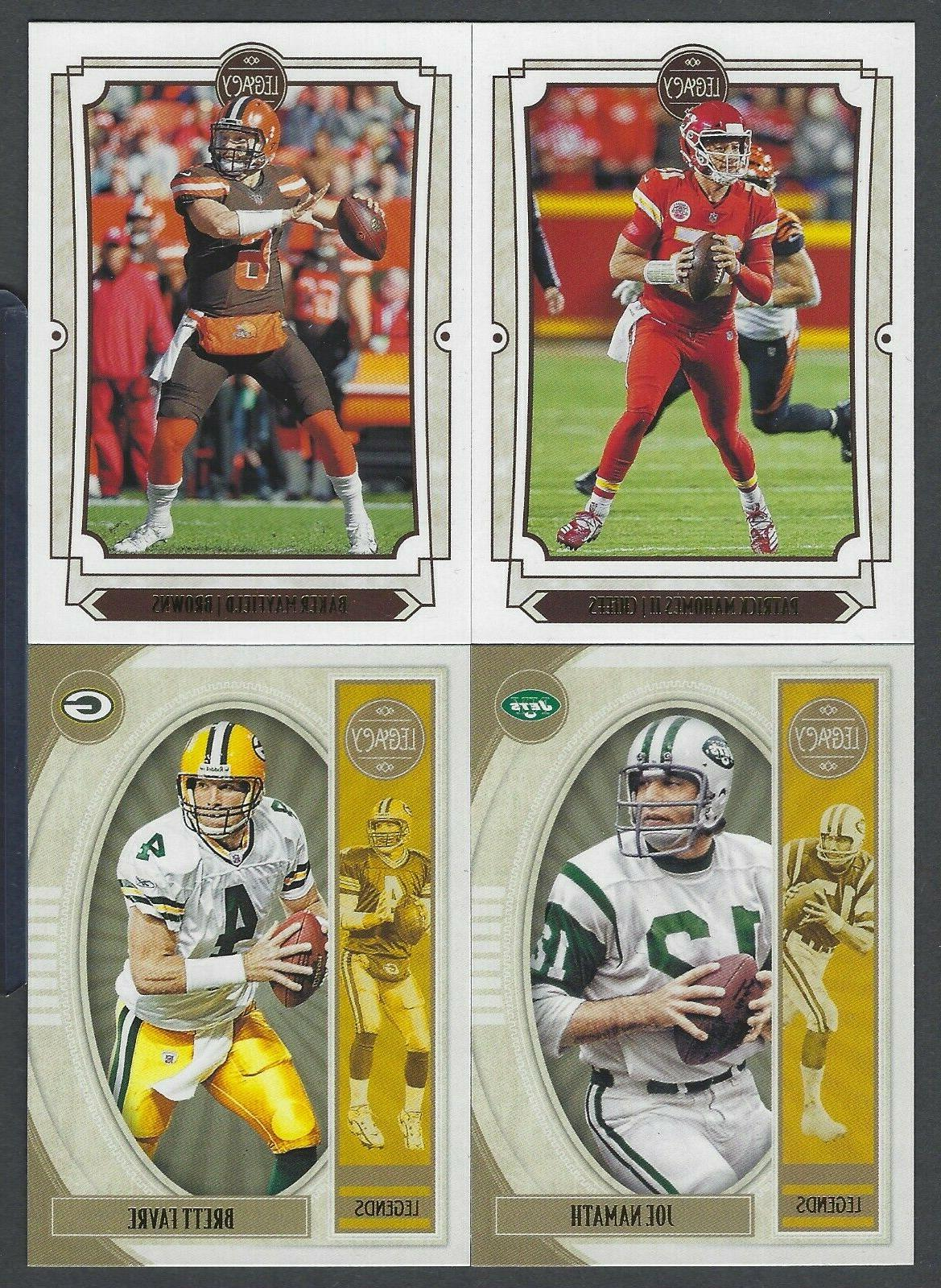 2019 panini legacy base and high number