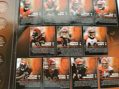 Cincinnati Medallions Complete NFL Players
