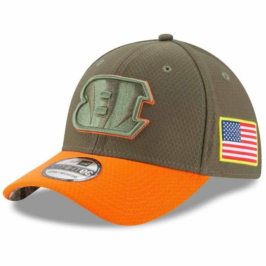 cincinnati bengals 39thirty salute service baseball cap