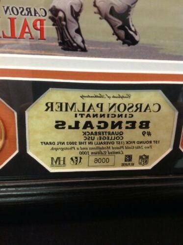 Cincinnati Bengals Photo Gold Coins Mint NFL Es 5