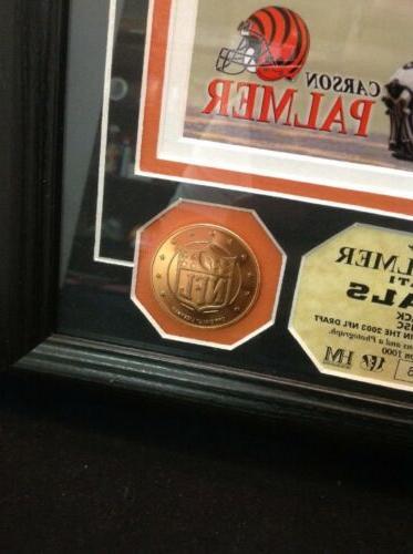 Cincinnati Bengals Carson Photo Coins Mint 5