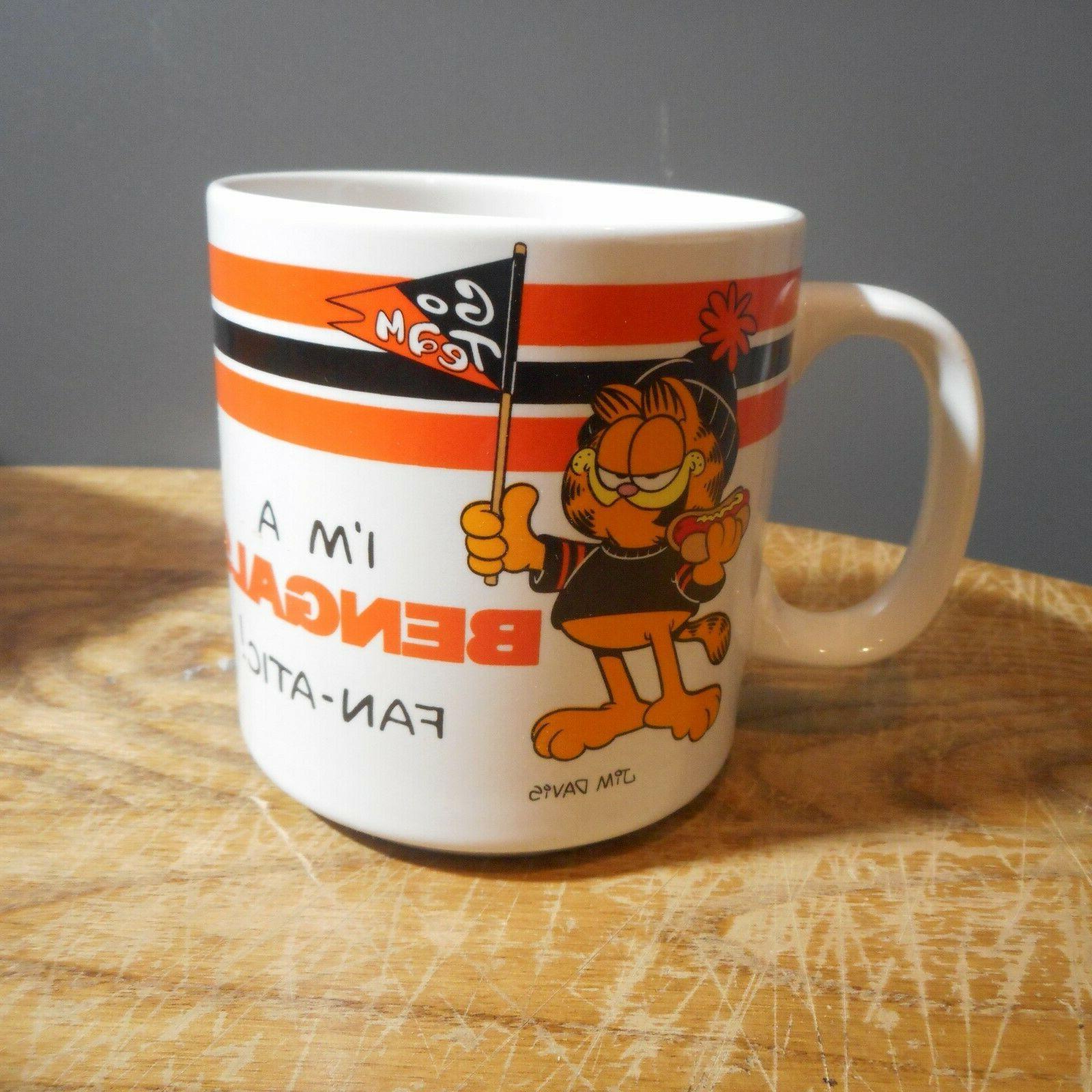 Cincinnati Bengals 1978 Ceramic Coffee Enesco w/Box