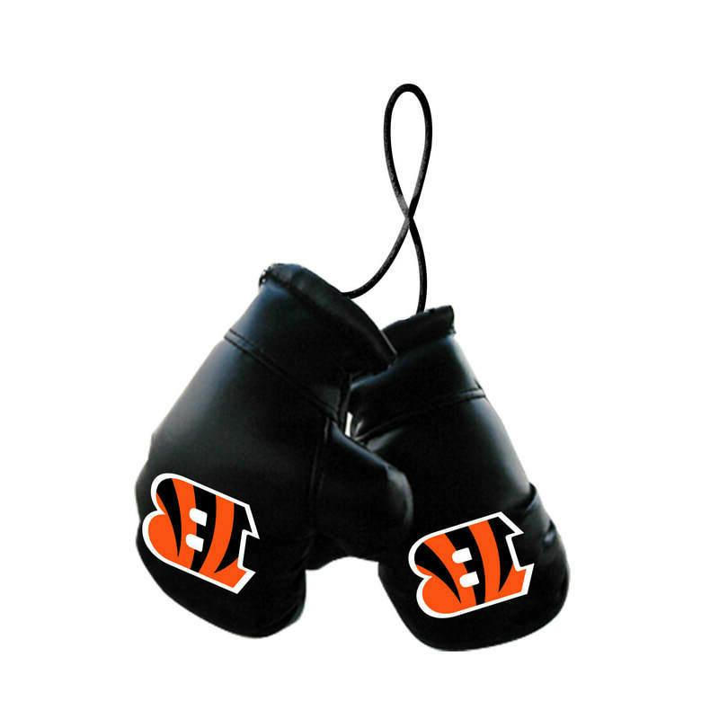 cincinnati bengals nfl mini boxing gloves rearview