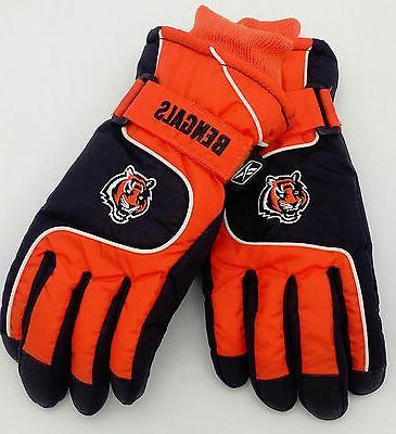 cincinnati bengals youth ski gloves