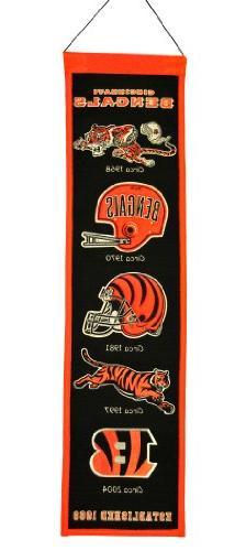 NFL Cincinnati Bengals Heritage Banner