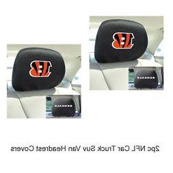 New NFL Cincinnati Bengals Car & Truck Embroidered Headrest