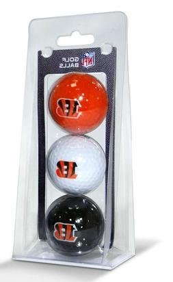 NFL Cincinnati Bengals 3-Pack Golf Balls