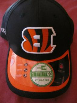 NFL Cincinnati Bengals Boys Baseball Hat Cap Child Youth