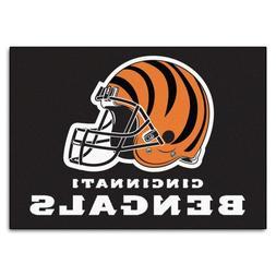 FANMATS NFL Cincinnati Bengals Nylon Face All-Star Rug