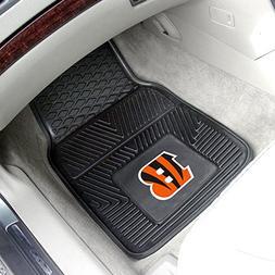 FANMATS NFL Cincinnati Bengals Vinyl Heavy Duty Car Mat