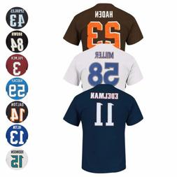 """NFL """"Eligible Receiver"""" Current Player Name & # Jersey T-Shi"""