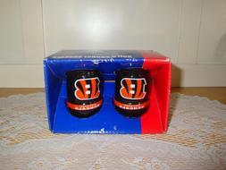 Set of Cincinnati Bengals Salt and Pepper Shakers-Football-S