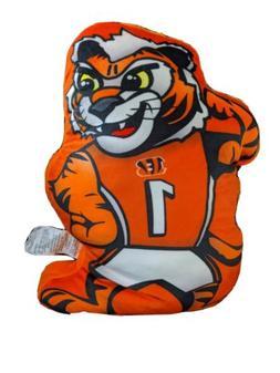 NWT Official NFL Cincinnati Bengals Orange Black Logo Pillow